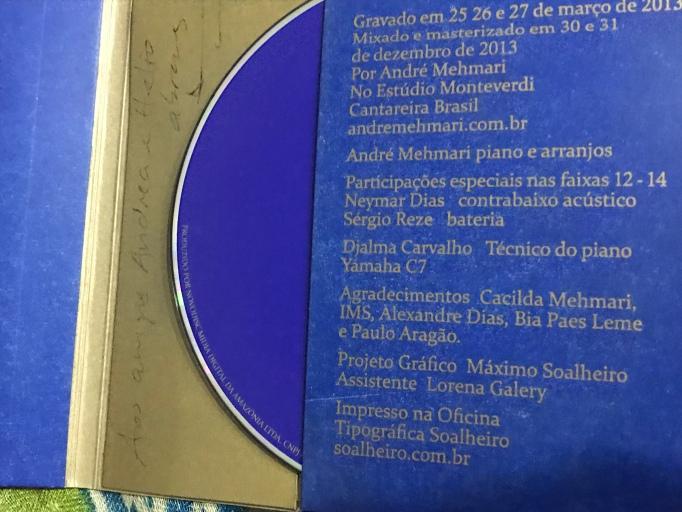 ANDRÉ MEHMARI, CD_OURO SOBRE AZUL_ERNESTO NAZARETH